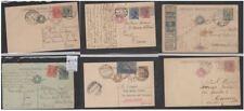 Regno Cartolina postale LOTTO 66 PEZZI  Servizio Stato VIAGGIATE ITALIA ESTERO