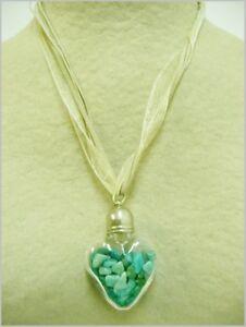 Anhänger Herz Der Fluorit, Harmonie, Fluorite pendant, Harmony. 101