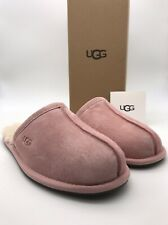 W UGG Pearle Blush Pink Suede / Sheepskin Slippers BLUS Woman NEW  -NIB-
