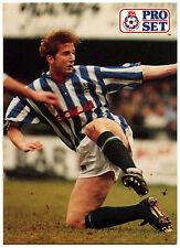 Iwan Roberts Huddersfield Town #419 Pro Set Football 1991-2 Trade Card (C364)