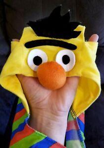 Dog Costume Coat Sesame Street Bert Adjustable Small Lightweight