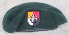 Authentic New US Army 3rd Special Forces Group Green Beret, US Government Issue