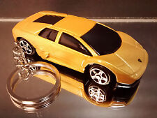Yellow Lamborghini Murcielago Diecast Key Chain Ring