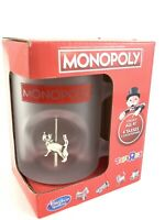 Toys R Us Hasbro Monopoly Cat Figure Glass Collector's Mug New In Box