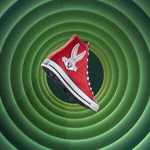 Converse x Bugs Bunny Chuck Taylor All Star Men's Size 7 Women's 9 NEW RARE