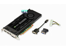 Dell NVIDIA Quadro K4000 GPU 3GB GDDR5 PCIe x16 2.0 Video Graphics card D5R4G