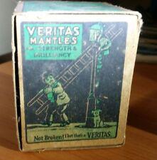 Vintage Veritas Mantles Kerosene Lantern   Primus Oil Lamp Box