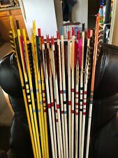 18 wood arrows  archery