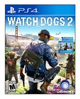 WATCH DOGS 2 (PS4) BRAND NEW | FACTORY SEALED | FREE SHIPPING Sony PlayStation 4