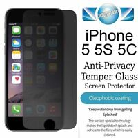 IPHONE 5 / 5c / 5s  PREMIUM PRIVACY PROTECTOR ANTI SPY SCREEN PROTECTOR MATTE