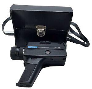 Vintage Keystone Cine-camera Xl500 movie camera Tested W/ Batteries Film Include