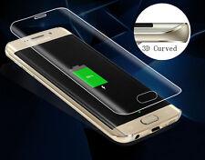Clear full incurvée temperd glass protecteur d'écran pour Samsung Galaxy S6 edge