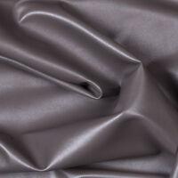 Charcaol Gray Two Way Stretch Spandex Apparel Crafting Vinyl Fabric - BTY