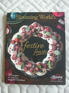 Slimming World Book Festive Feasts Excellent Condition Display Use Only