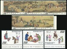 Taiwan 1926-1929,MNH.Michel 1063-1070. Ceremonial New Year Greetings,1975
