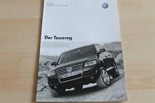 93558) VW Touareg - Preise & Extras - Prospekt 12/2003
