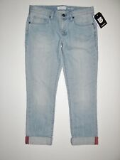 New Burton Womens Weekender Cropped Capri Denim Jeans Size 27/5