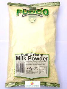 FULL CREAM MILK POWDER - WHOLE MILK POWDER - LONGLIFE MILK - FUDCO - 750g