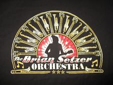 BRIAN SETZER ORCHESTRA Concert Tour (LG) T-Shirt THE STRAY CATS