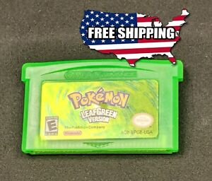 Pokemon Leaf Green Version - Gameboy Advance GBA SP DS Lite **NEW +More