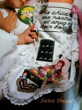 Sweet Dreams Children Nestled All Snug In Bed CROSS STITCH PATTERN for Stocking