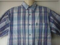 mens JEEP Casual Shirt, ,Short Sleeves, S, 100% Cotton