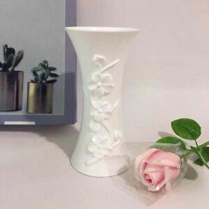 Pretty Plastic Embossment Vases Flower Arrangement Pot Container Table Decor