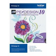 Brother PE Design 10 Embroidery Sew Software ⭐INSTANT DELIVERY⭐