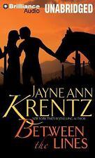BETWEEN THE LINES unabridged audio book on CD by JAYNE ANN KRENTZ - Brand New!