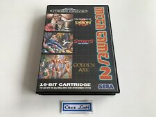 Mega Games 2 (Shinobi, Streets Of Rage, Golden Axe) - Sega Megadrive - PAL EUR