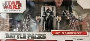 Star Wars Birth of Darth Vader NEW Battle Pack Legacy Collection