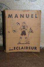 More details for 1942 manuel de l'eclaireur - scouts scouting scoutisme handbook vichy baden
