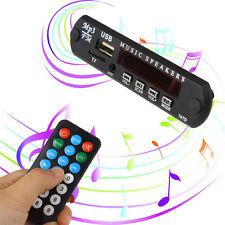 1x 5V MP3 Décodeur FM Module Audio Télécommande USB TF Radio Cadeau