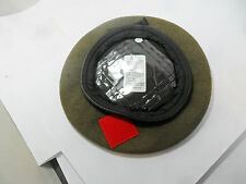 OFFICIAL BRITISH ARMY KHAKI BERETS WITH RED BADGE PATCH