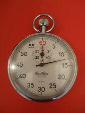 Vintage German Rare HANHART P.H.Reutlingen Stopwatch Chronometer 7Jewels 1/5sec