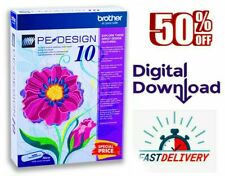Brother Pe Design 10 Embroidery Full Software 2020 🔥 Free Gifts 🔥 Fast delive