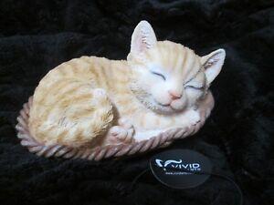 Vivid Arts - Ginger Kitten in A Basket - BNIB !!