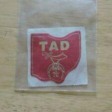 Shriners TAD Sticker
