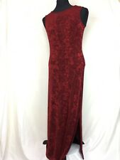Coldwater Creek Long Red Maxi Dress sz. S