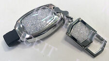 Key Protector Keychain Set With Swarovski Crystals For Mercedes Benz