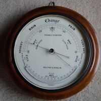 Free Shipping -Antique 1800s Belfast Barometer & Thermometer by Francis M. Moore