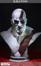 GOD OF WAR ASCENSION BUST BUSTO FIGURE STATUE STATUA 71 CM KRATOS BLADE OF CHAOS