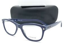 NEW Coach eyeglasses RX Frame HC6095 5422 52mm Navy AUTHENTIC 6095 Square Blue