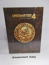 GUIDA STRATEGICA UFFICIALE UNCHARTED 4 COLLECTOR'S EDITION - NUOVO NEW