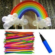 100pcs Long Latex Balloons Twisting Animal Shaping Balloon Birthday Party Deco