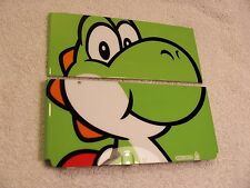 Nintendo Used New 3DS  Faceplate Yoshi Green Front, Back Cover Plate Repair part