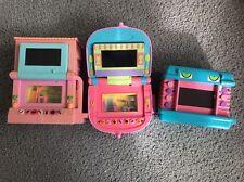 3 Pixel Chix Games Secret Life Of Pets Hamster, Two Story Cottage & Beauty Salon