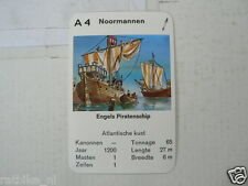 67-PIRATEN,PIRATES, A4 ENGELS PIRATENSCHIP UK