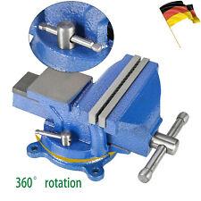 Schraubstock Parallel 125mm 150mm Amboss Für Werkbank Drehbar Teller 360° DE