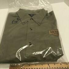 Snyder's of Hanover Port Authority Men's Large button down shirt New